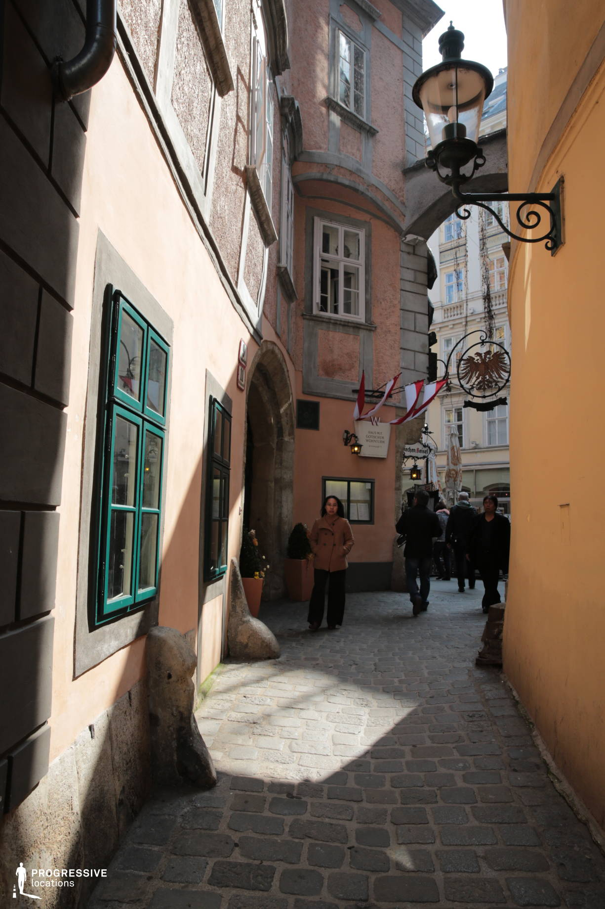 Locations in Austria: Griechengasse Alley