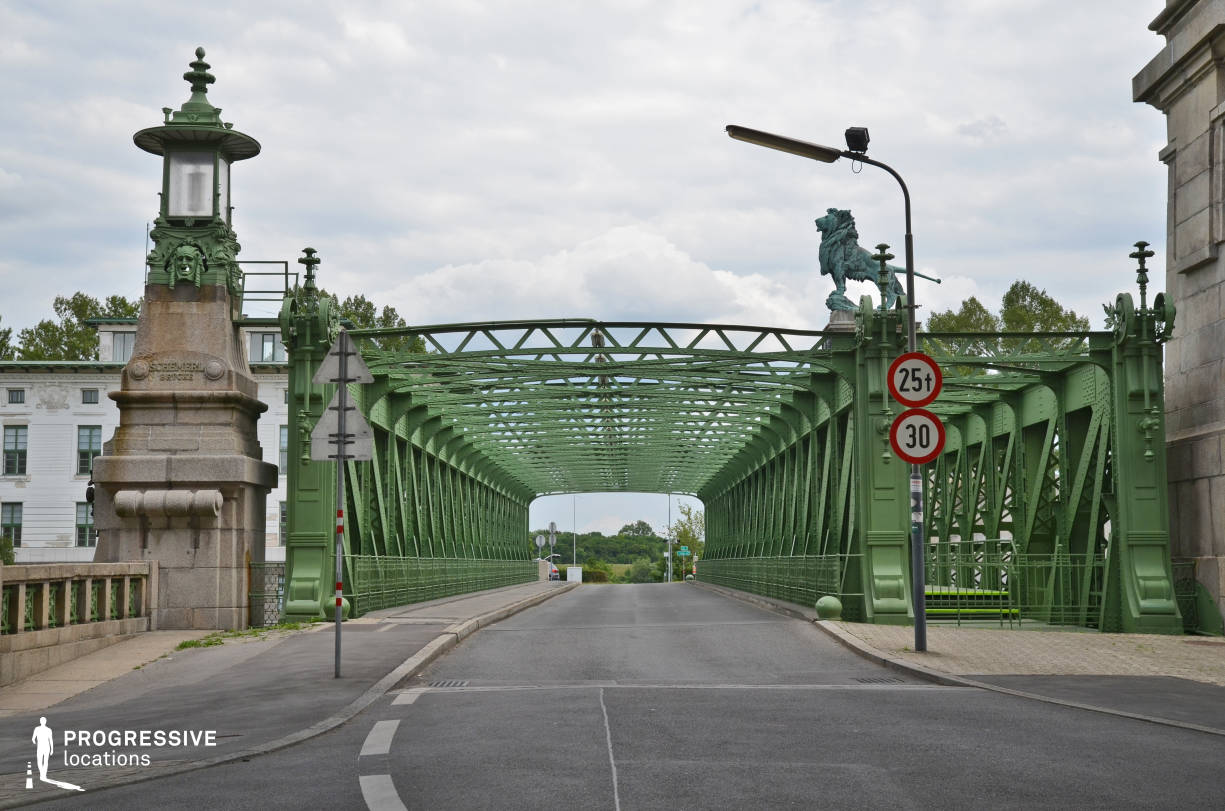 Locations in Austria: Schemerl Brucke Metal Bridge