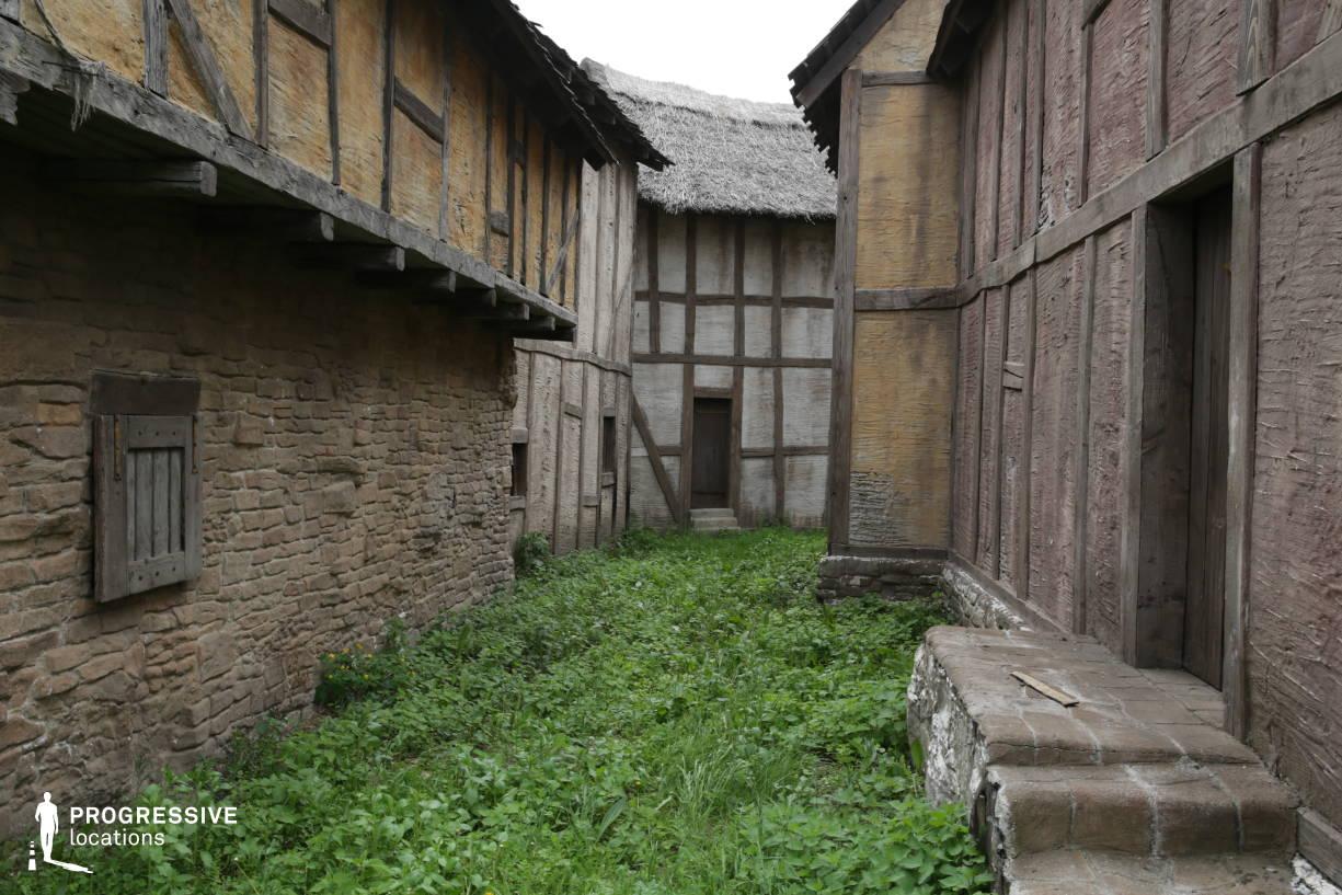 British Medieval Village Backlot: Alley