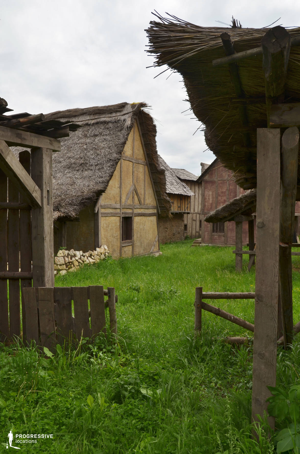 British Medieval Village Backlot: Backyard Stable