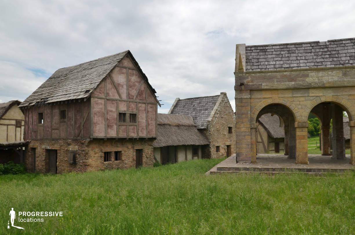 British Medieval Village Backlot: Main Square (Detail)