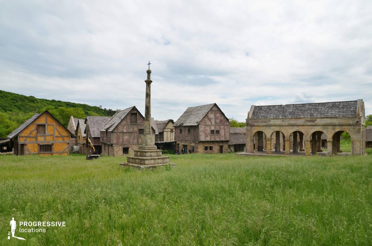British Medieval Village Backlot: Main Square