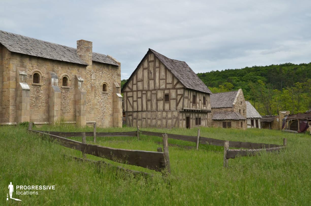 British Medieval Village Backlot: Sheepfold