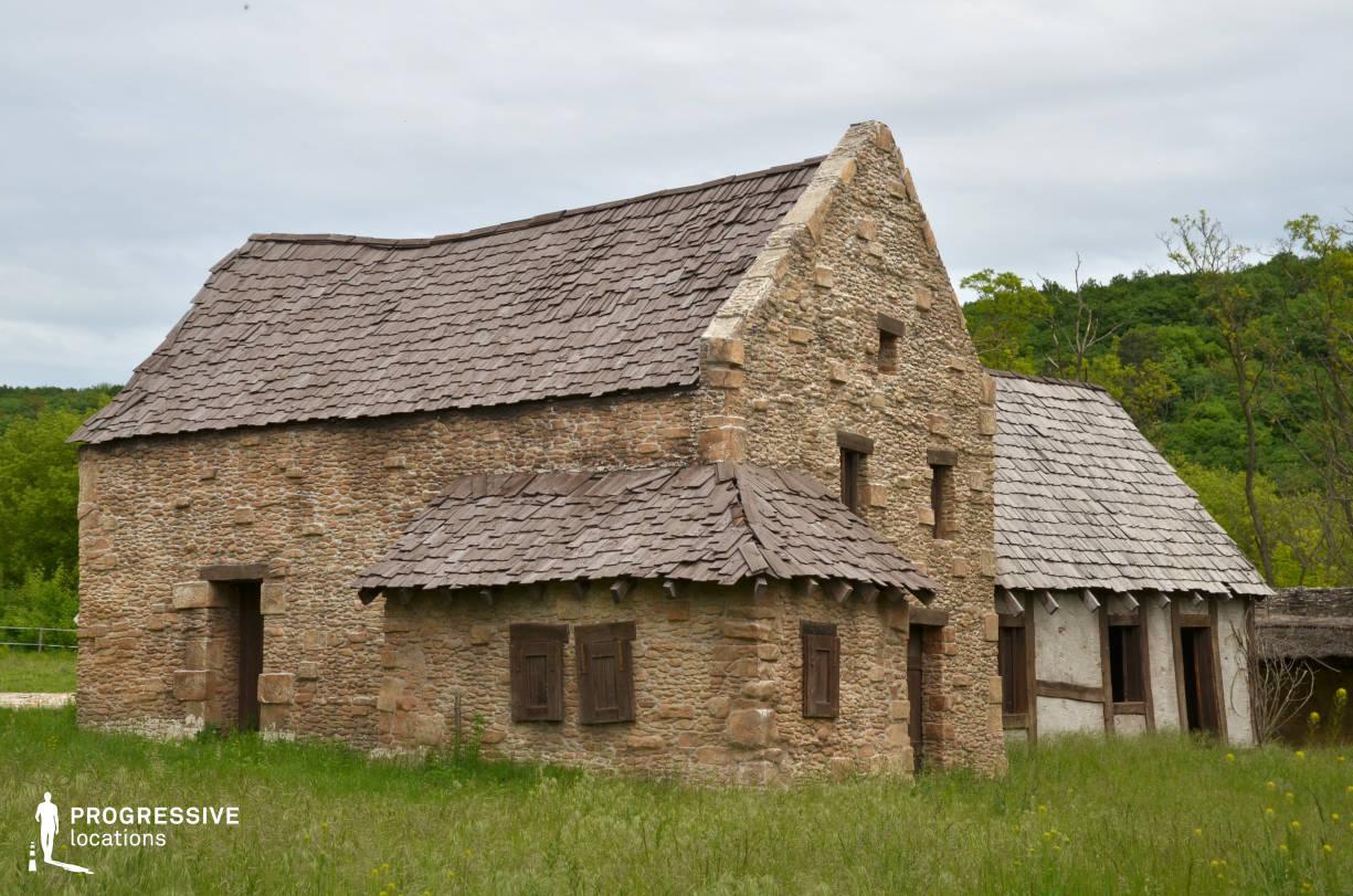 British Medieval Village Backlot: Stone House