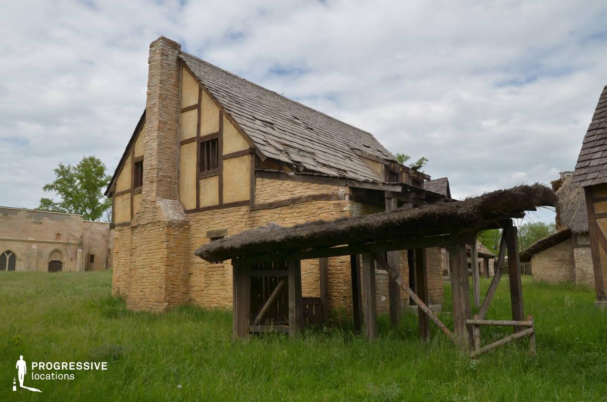 British Medieval Village Backlot: Two Storey House