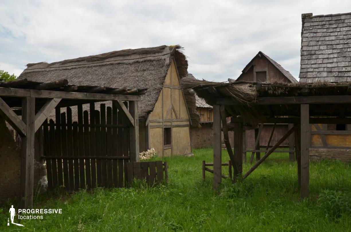 British Medieval Village Backlot: Wooden Stables