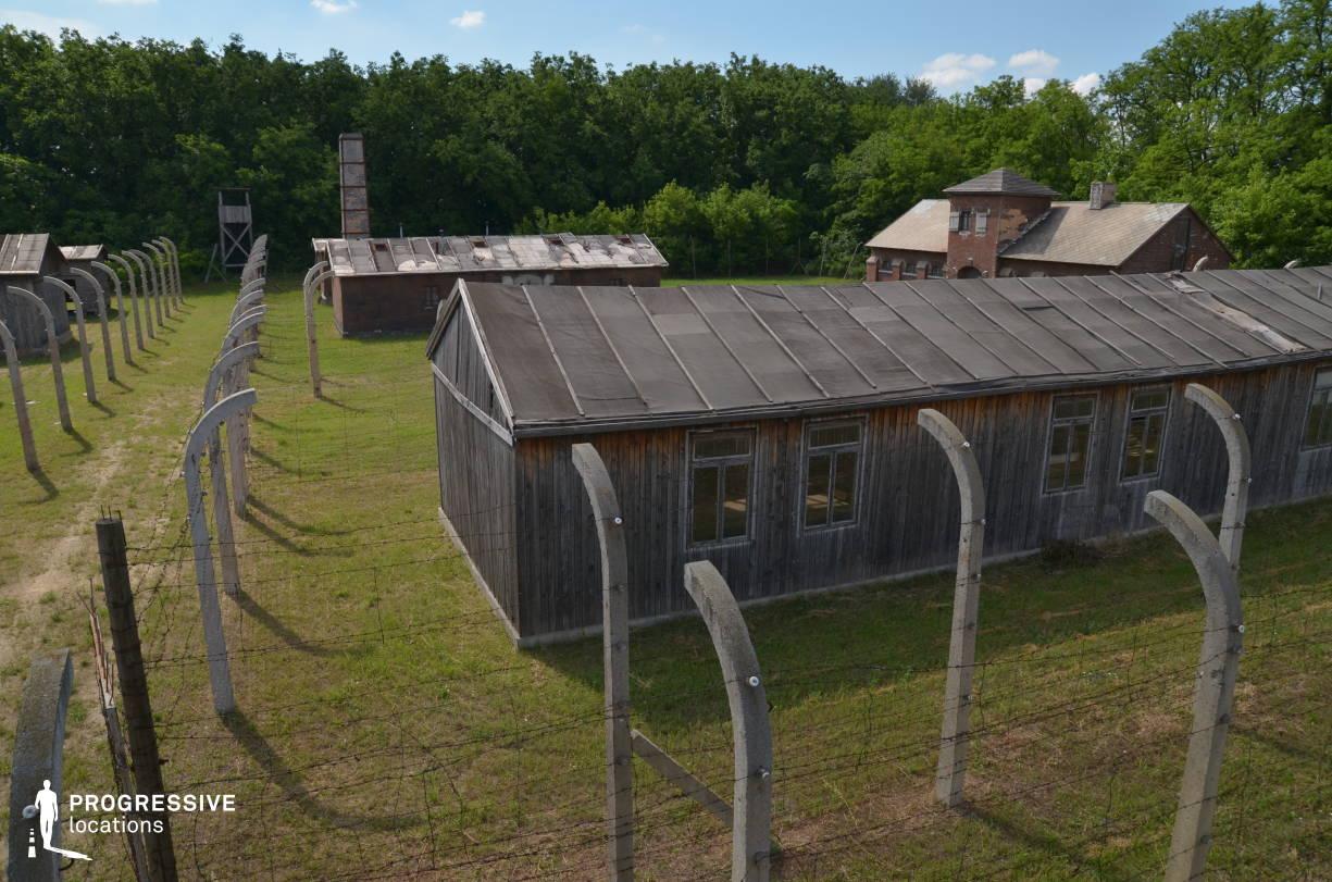 Labor Camp Backlot: Barrack (Birds Eye View)