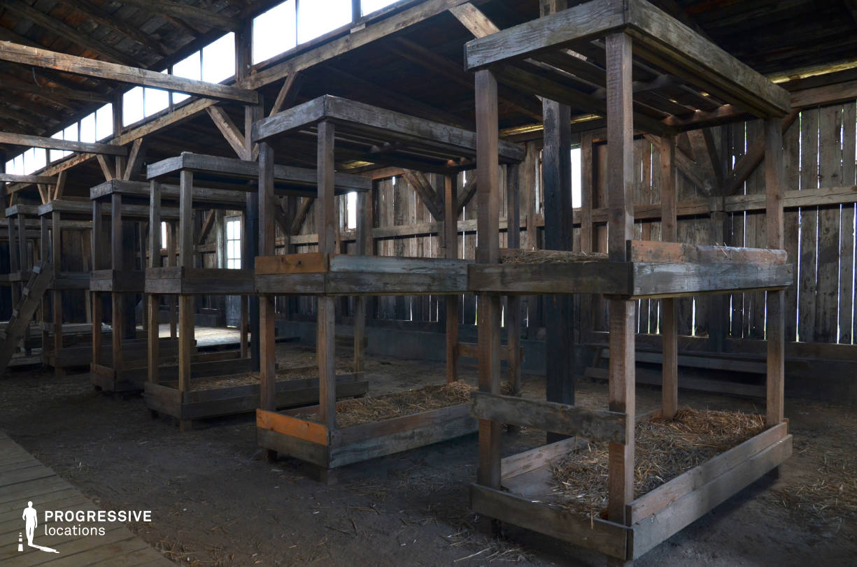 Labor Camp Backlot: Barrack Interior, Bunk Beds