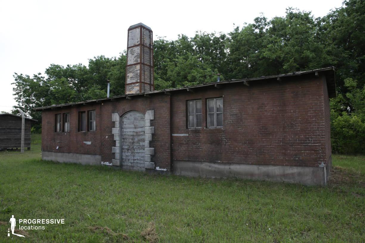 Labor Camp Backlot: Crematory Building