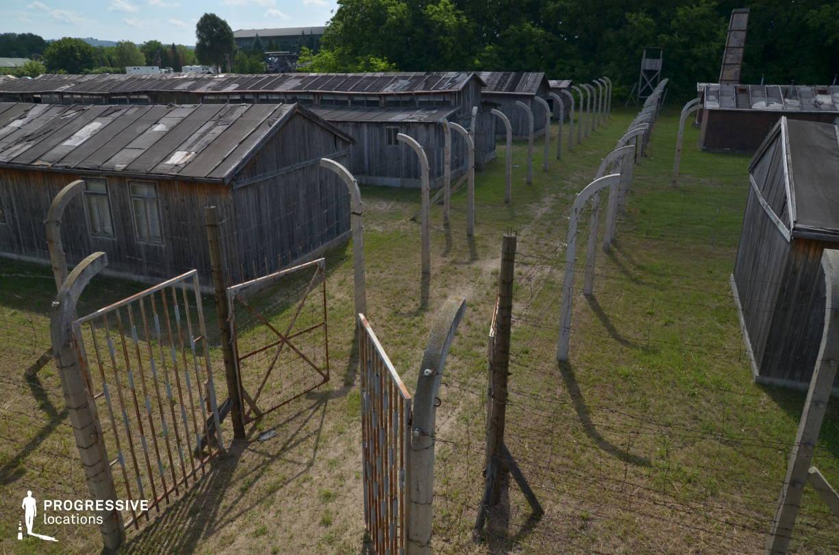 Labor Camp Backlot: Entrance Gate (Birds Eye View)