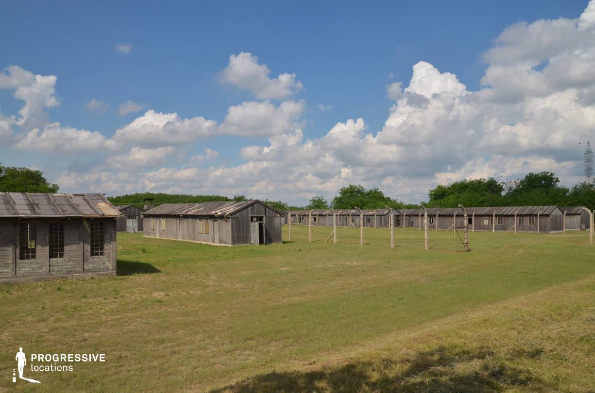 Labor Camp Backlot: Military Camp (Wide Shot)