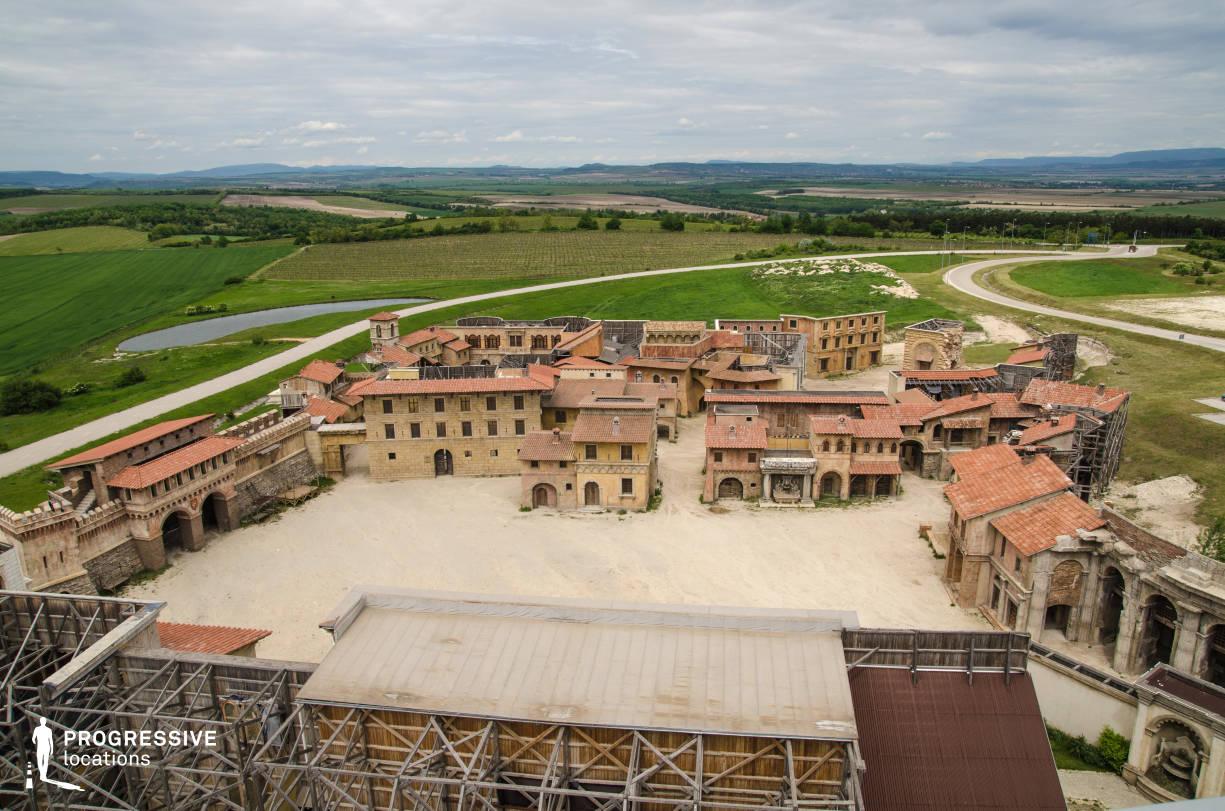 Renaissance City Backlot (Birds Eye View)