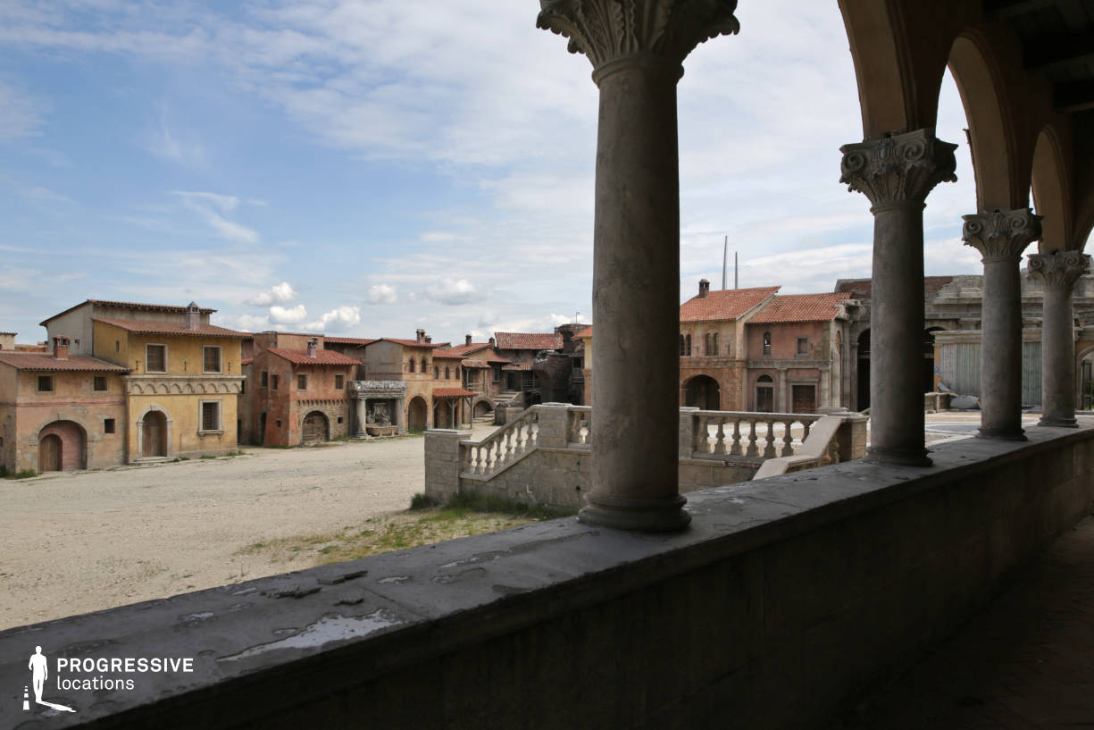 Renaissance City Backlot: Episcopal Palace %26 Arcade