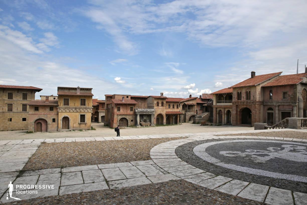 Renaissance City Backlot: Episcopal Palace (Terrace View)