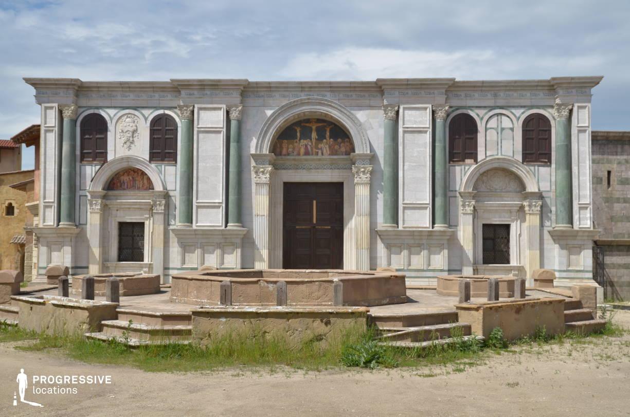 Renaissance City Backlot: Marble Church Facade