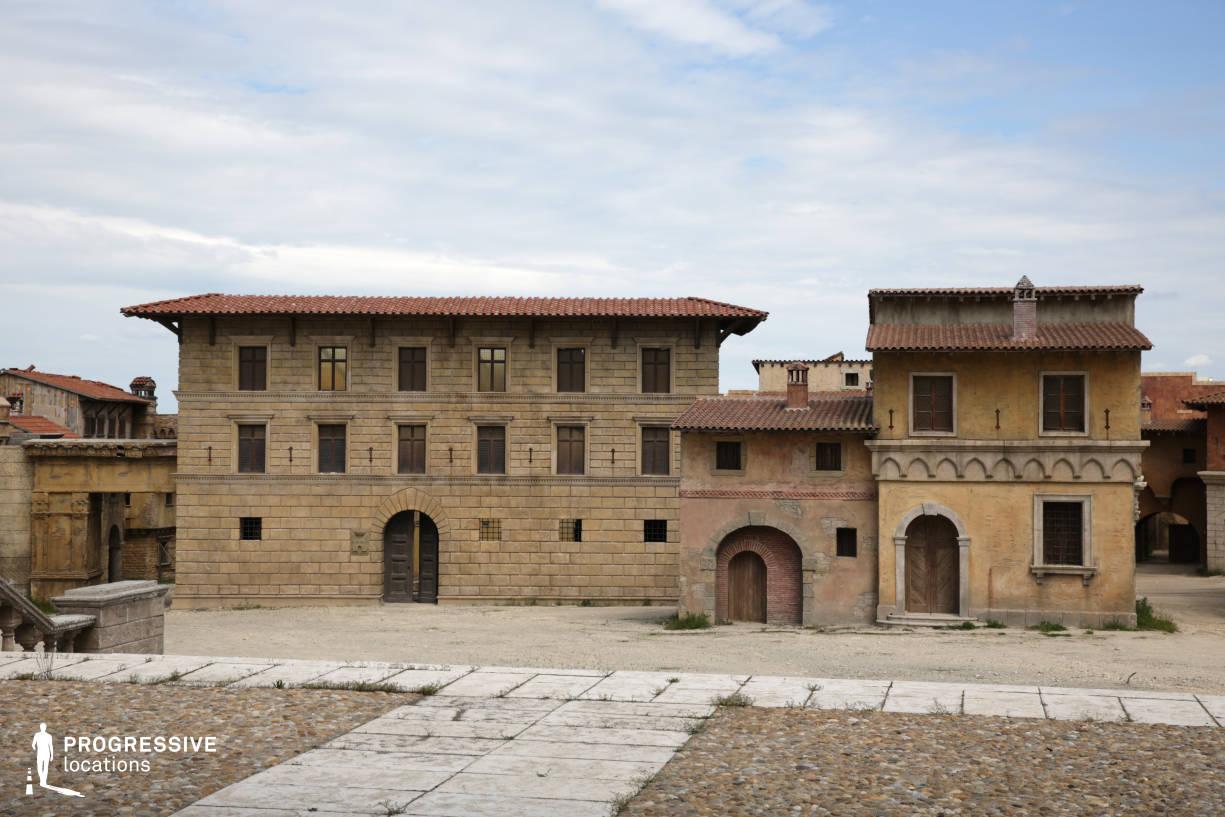 Renaissance City Backlot: Palace Facade