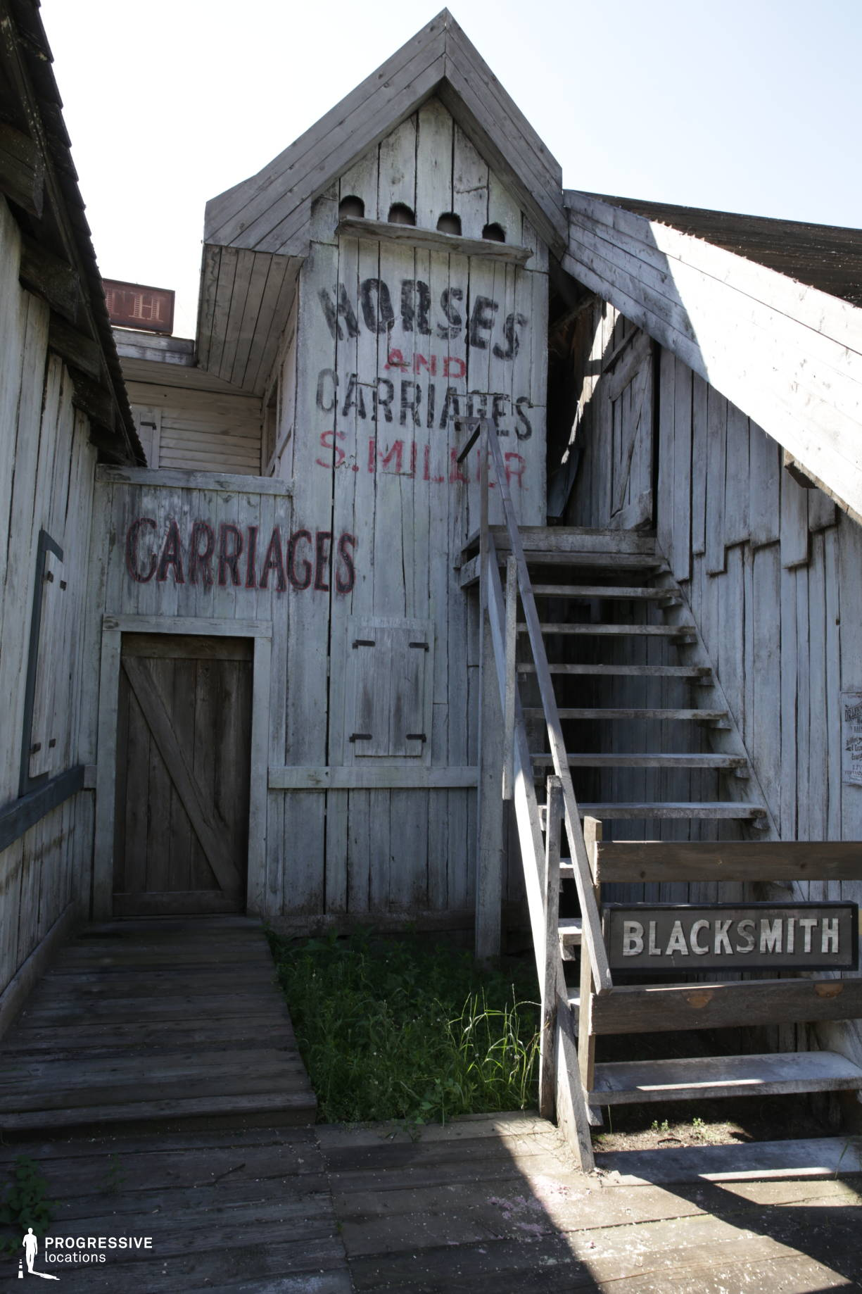 Western Town Backlot: Blacksmith Workshop