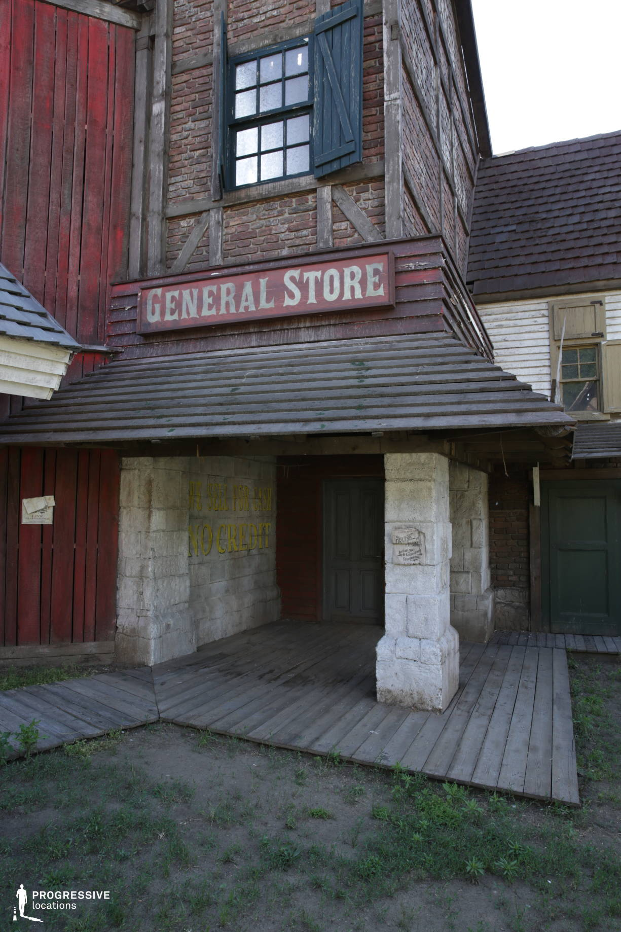 Western Town Backlot: General Store