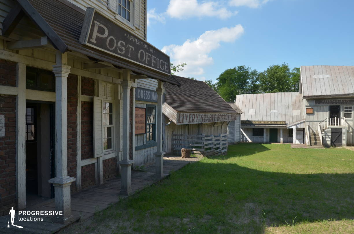 Western Town Backlot: Post Office Entrance