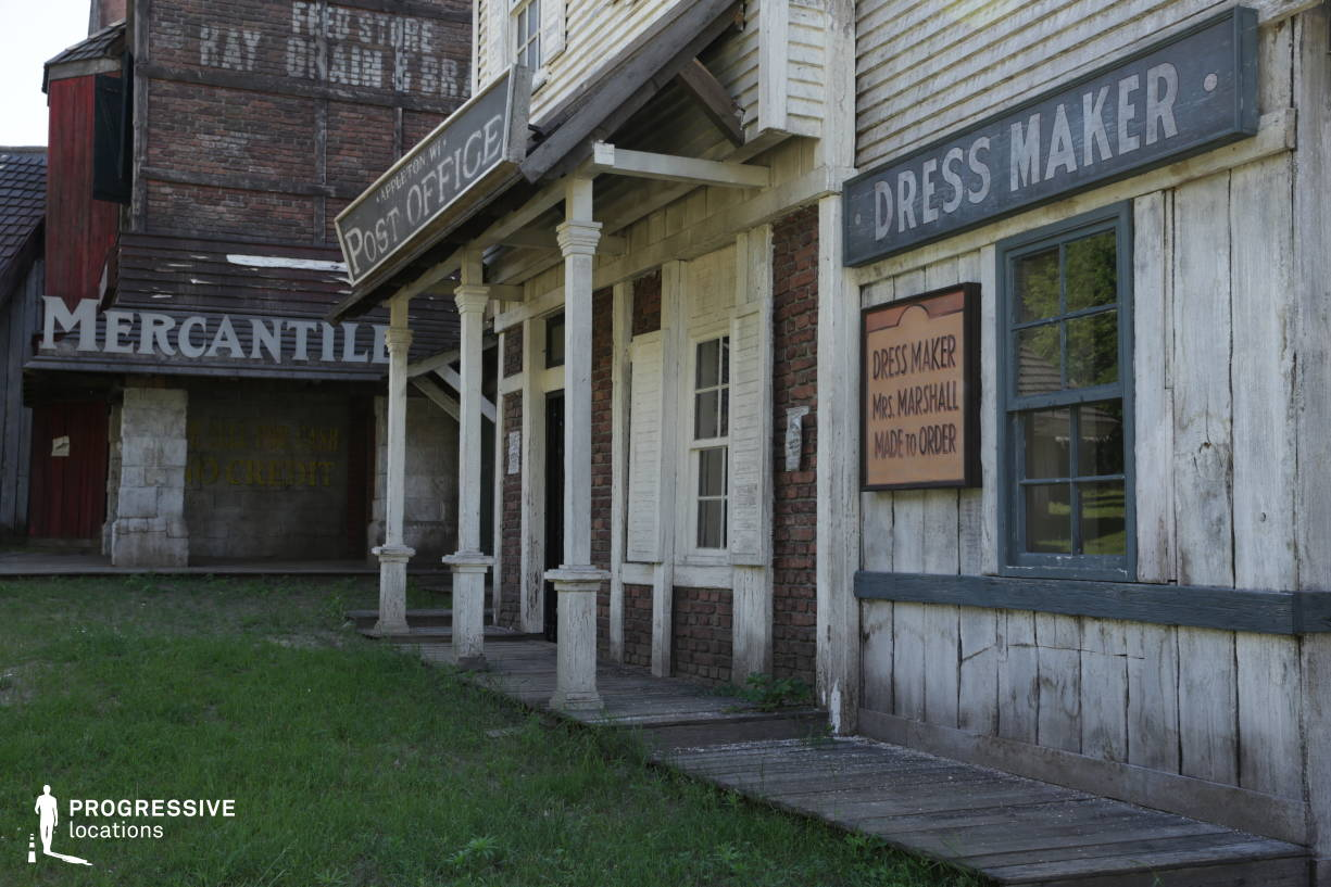 Western Town Backlot: Post Office