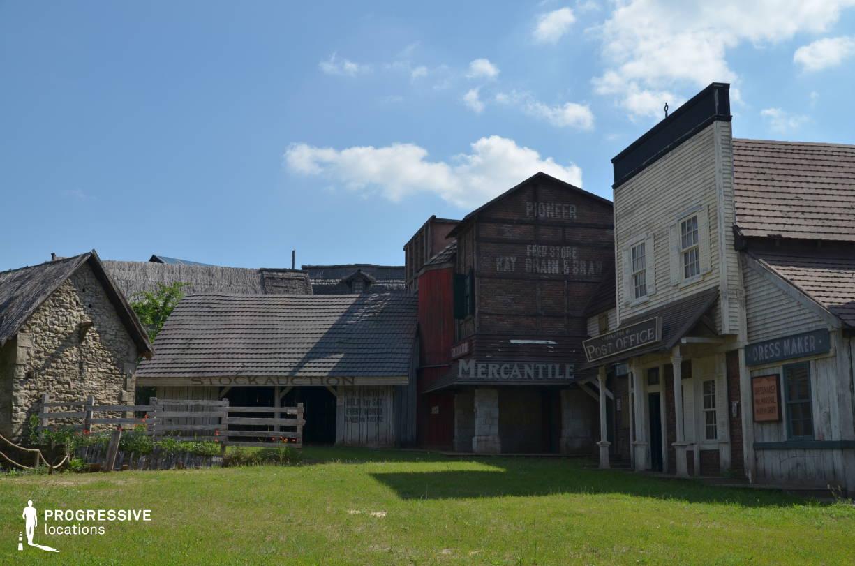 Western Town Backlot: Town Street