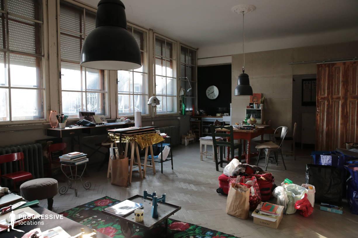 Locations in Budapest: Artist Studio Apartment