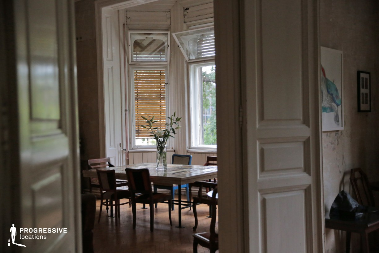 Locations in Budapest: Living Room Windows