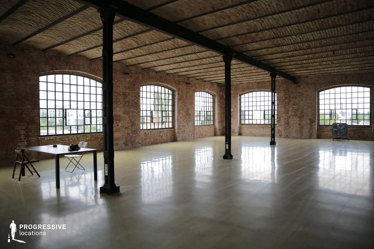 Locations in Budapest: Loft Studio