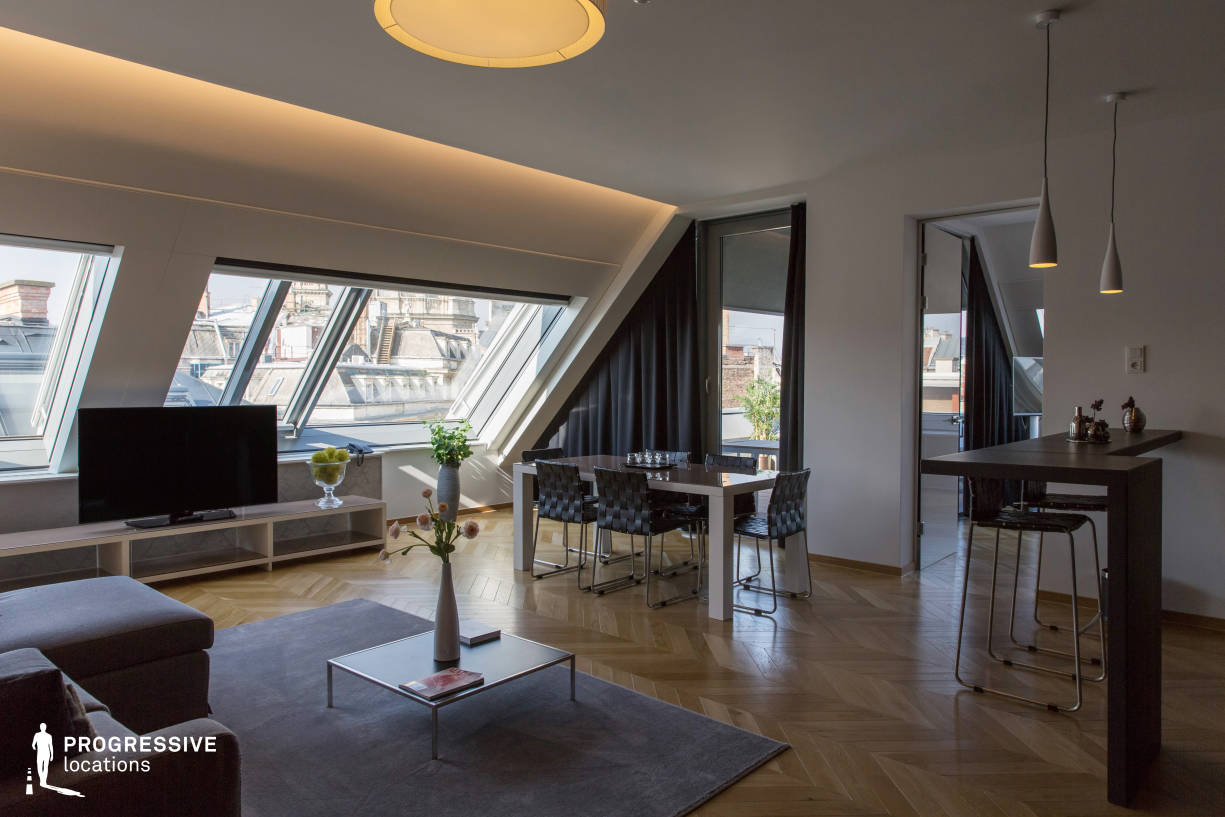 Locations in Budapest: Modern Penthouse Apartment