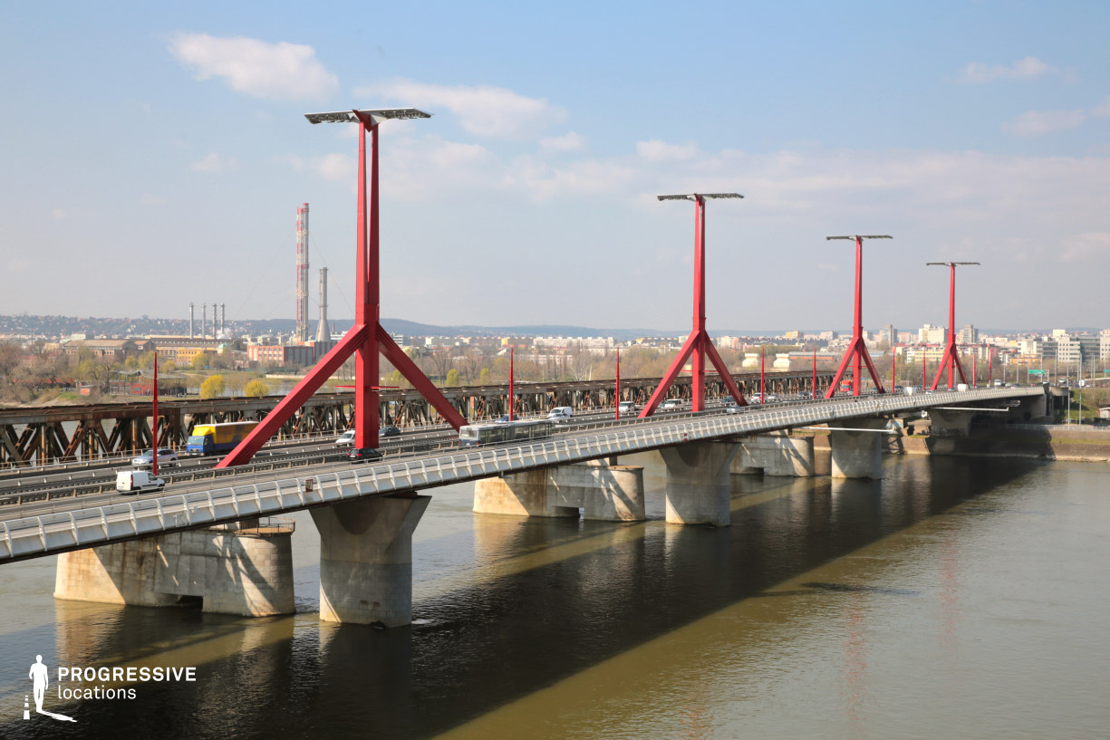 Locations in Budapest: Rakoczi Bridge