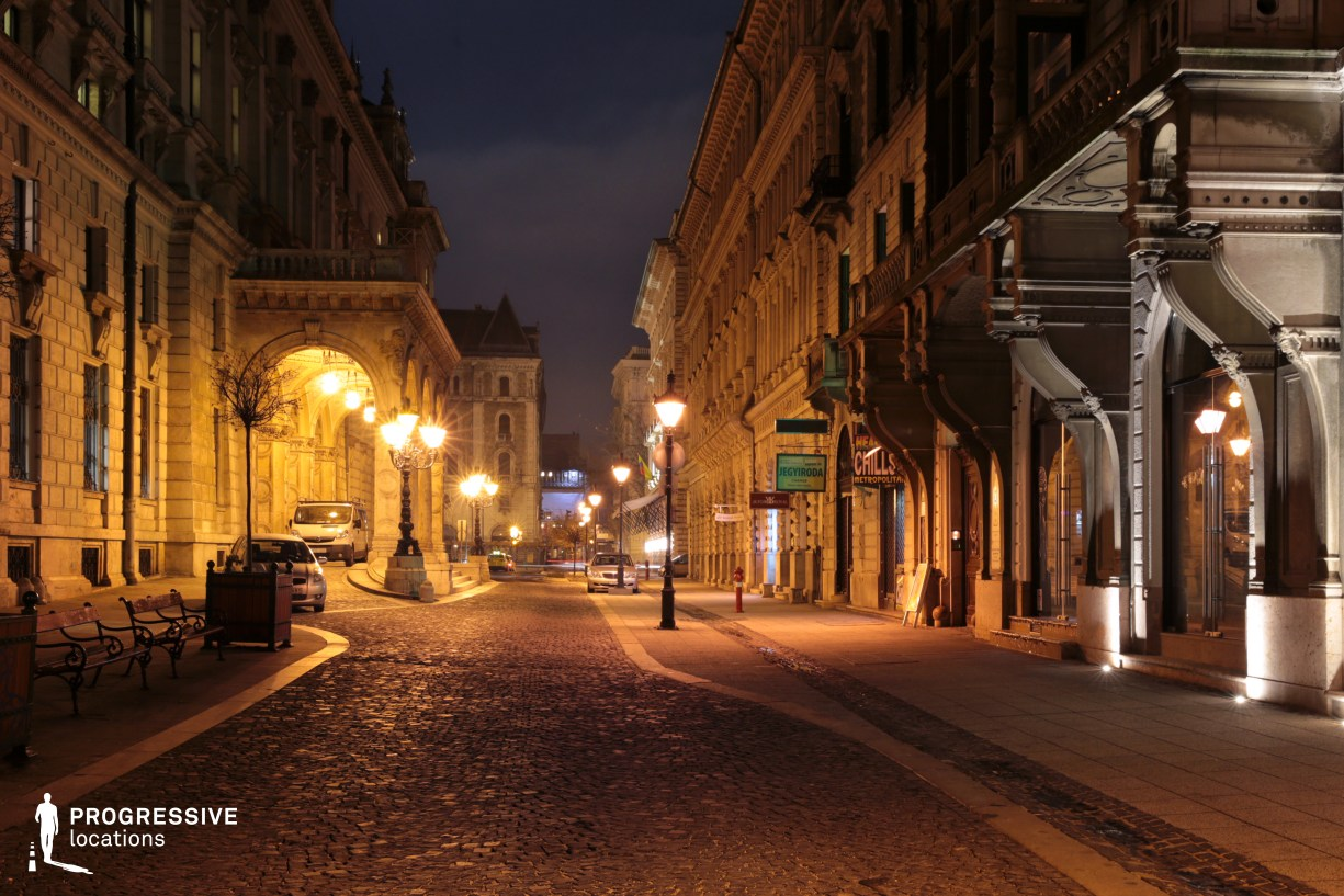 Locations in Budapest: Cobblestone Street, Opera House
