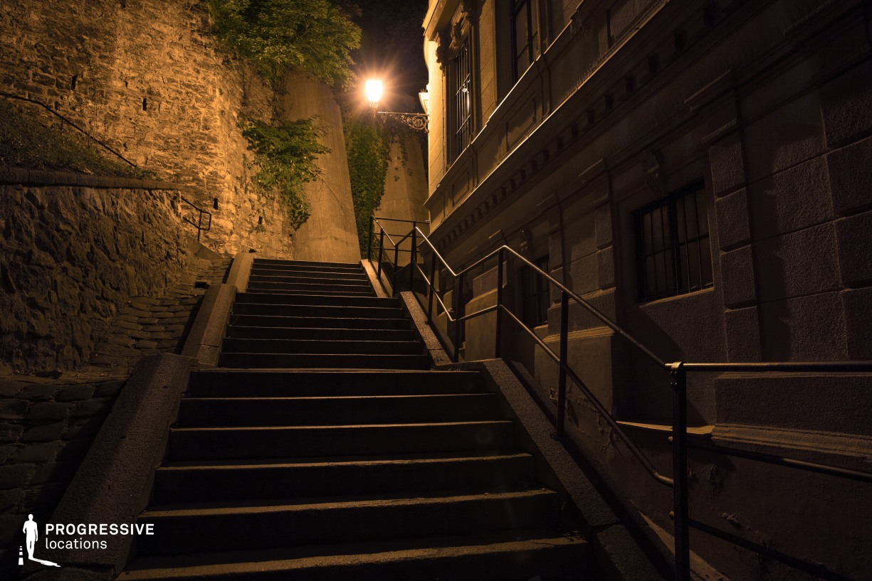 Locations in Budapest: Steps, Buda Castle District