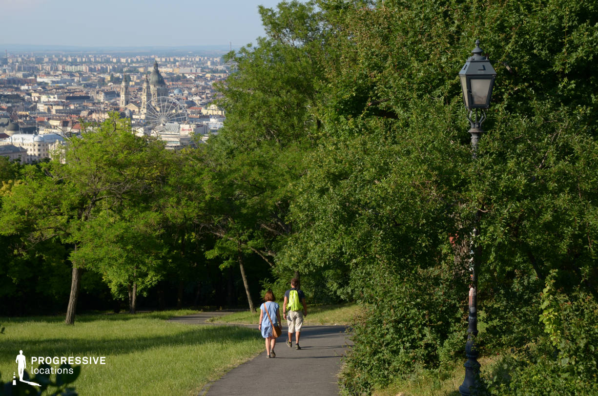 Locations in Budapest: Citadella Park %26 City View