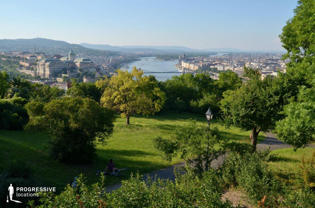 Locations in Budapest: Citadella View