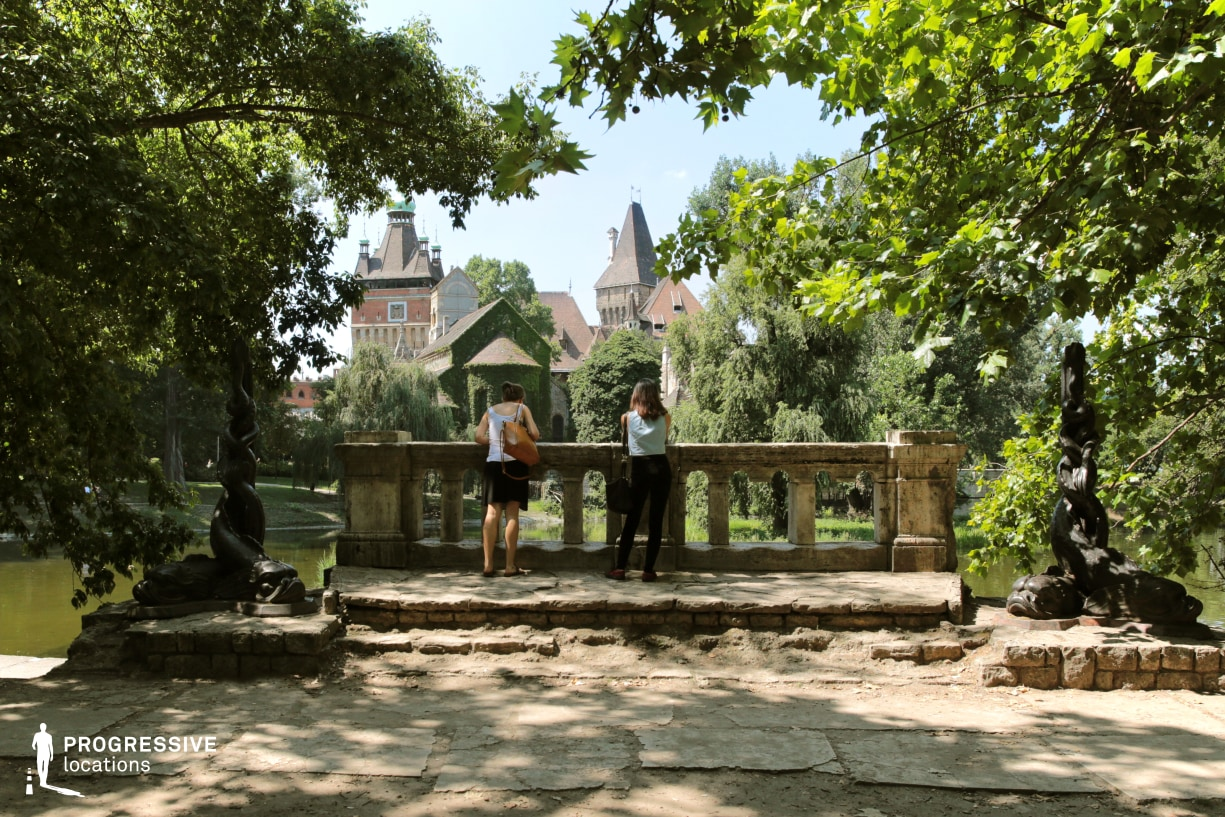 Locations in Budapest: Castle, City Park