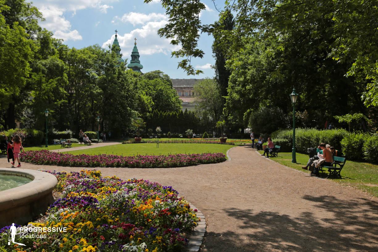 Locations in Budapest: Karolyi Garden, Park