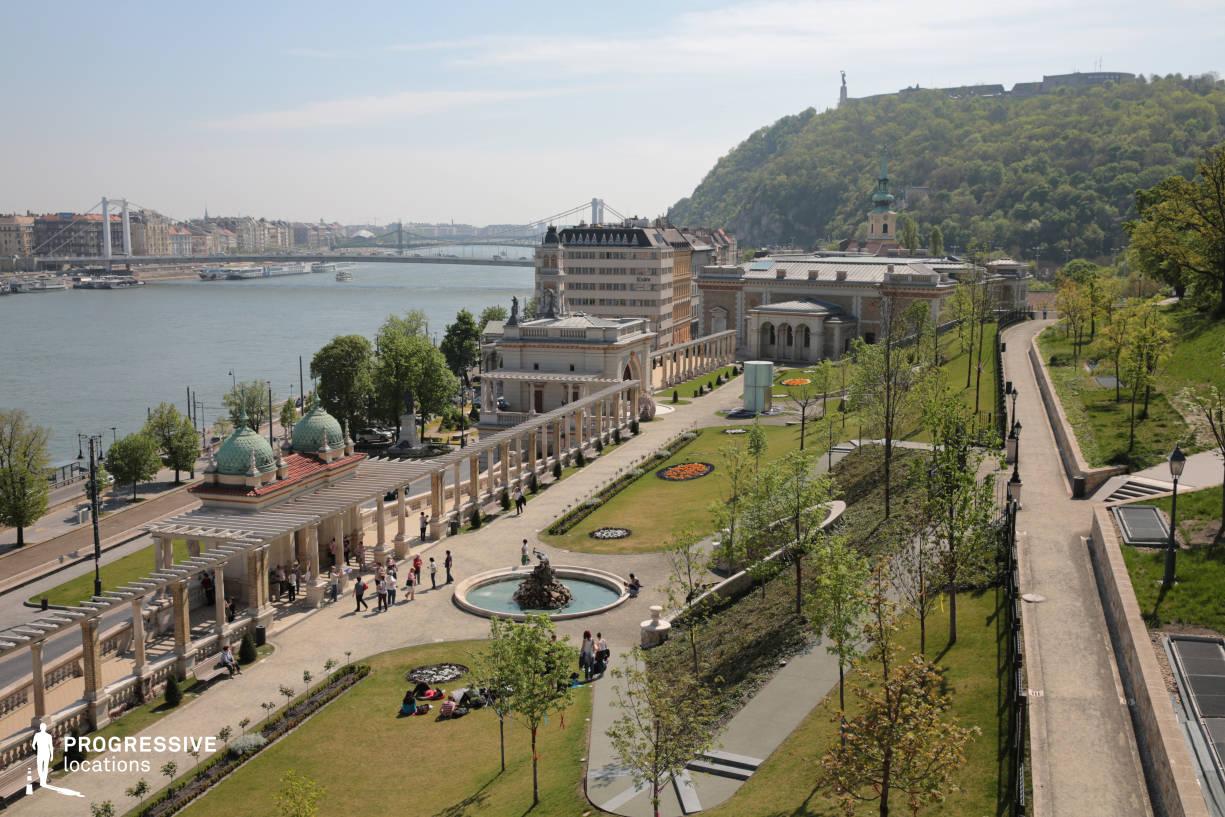 Locations in Budapest: Ybl Bazaar Panorama