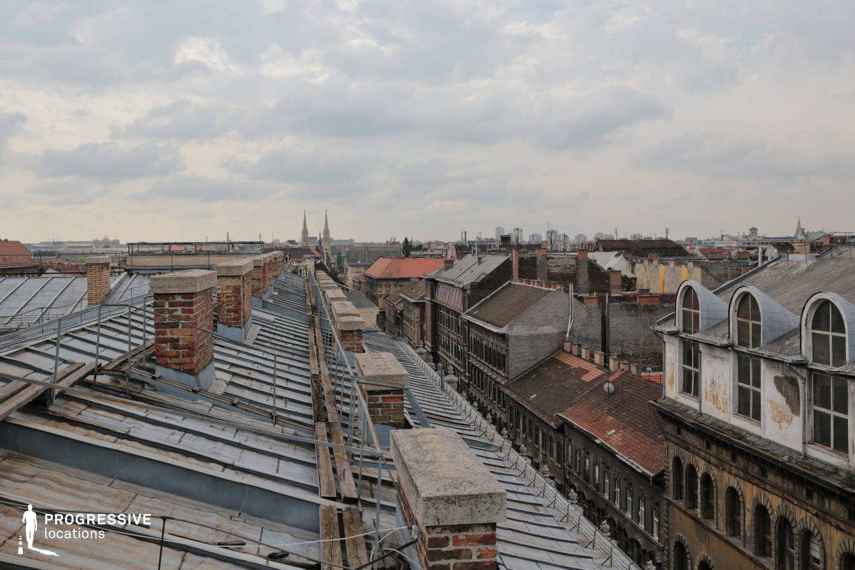 Locations in Budapest: Andrassy Street Rooftop