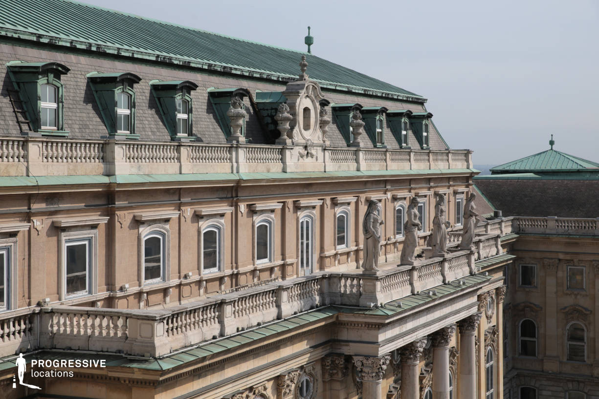 Locations in Budapest: Rooftop Terrace, Buda Castle
