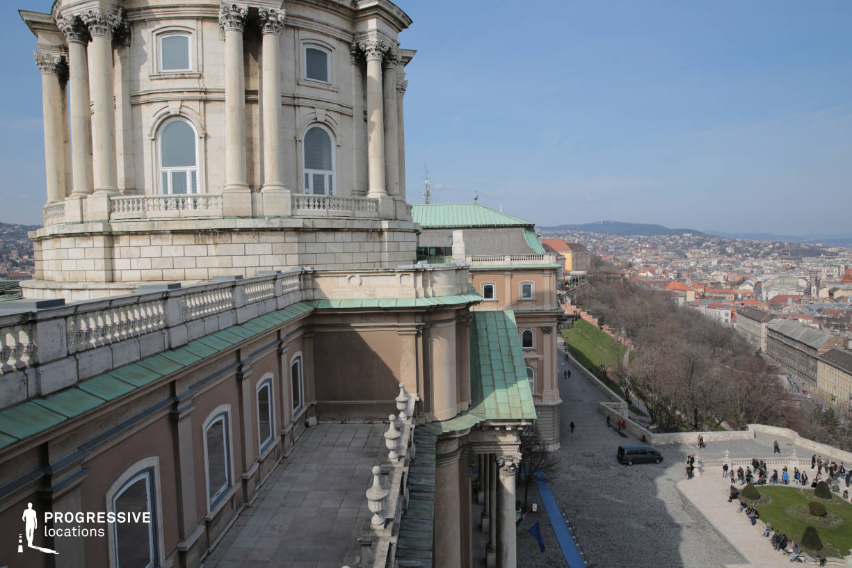 Locations in Budapest: Rooftop Terrace %26 Dome, National Gallery