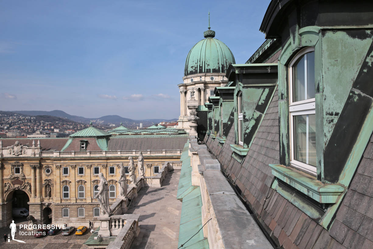 Locations in Budapest: Mansard, National Gallery