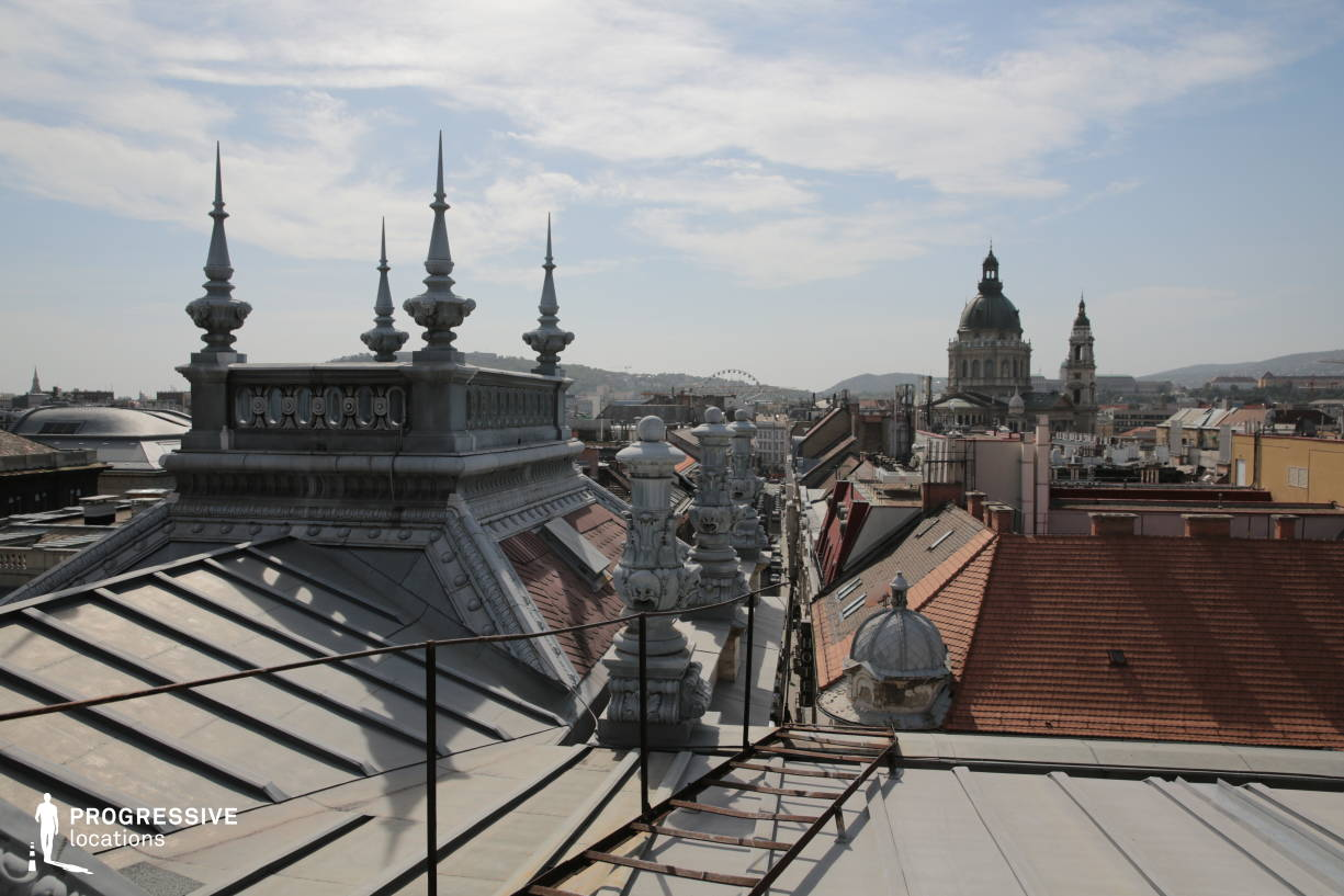 Locations in Budapest: Basilica View, Opera Rooftop