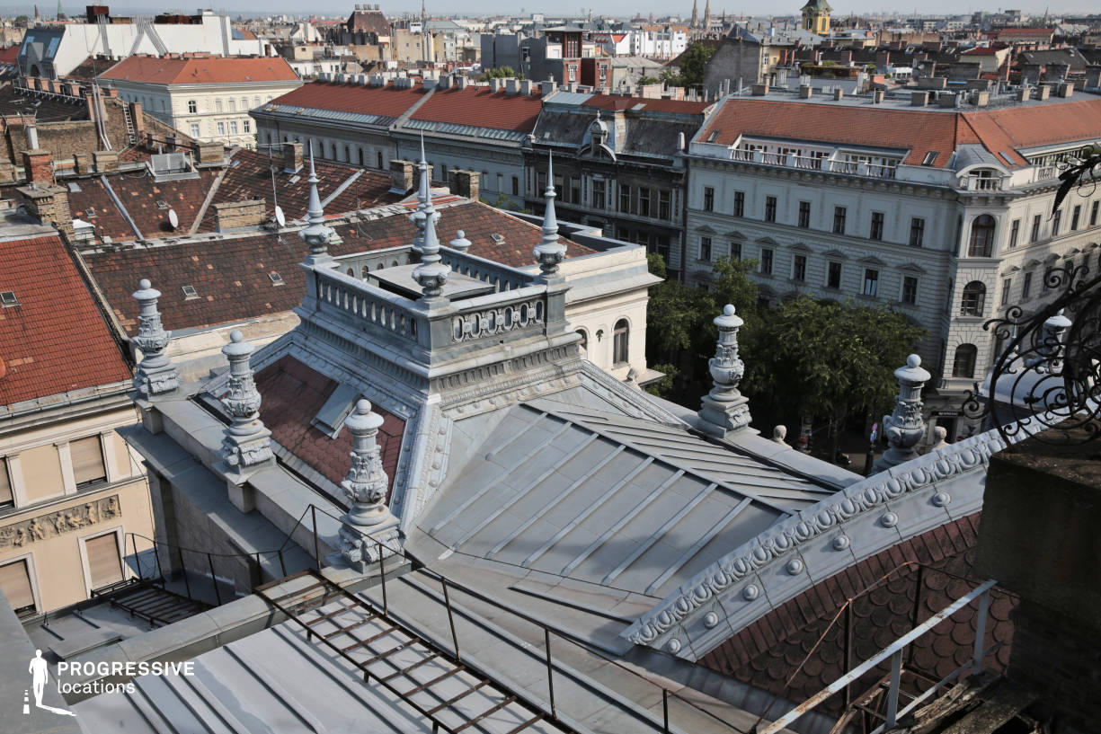 Locations in Budapest: Opera Rooftop, Andrassy Street