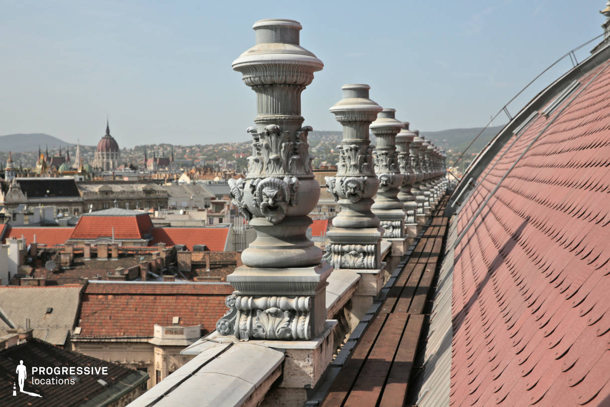 Locations in Budapest: Ornate Balustrade, Opera Rooftop