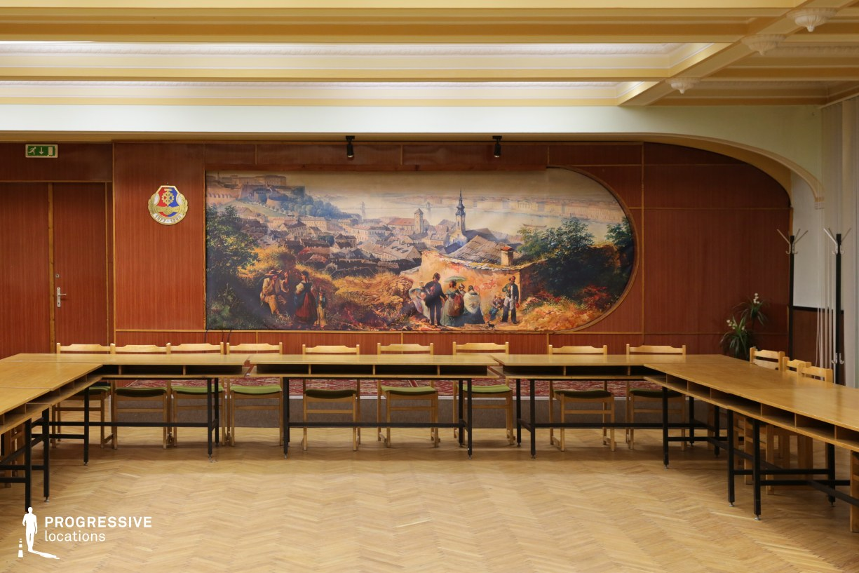 Locations in Budapest: Assembly Hall, Metalworkers Union