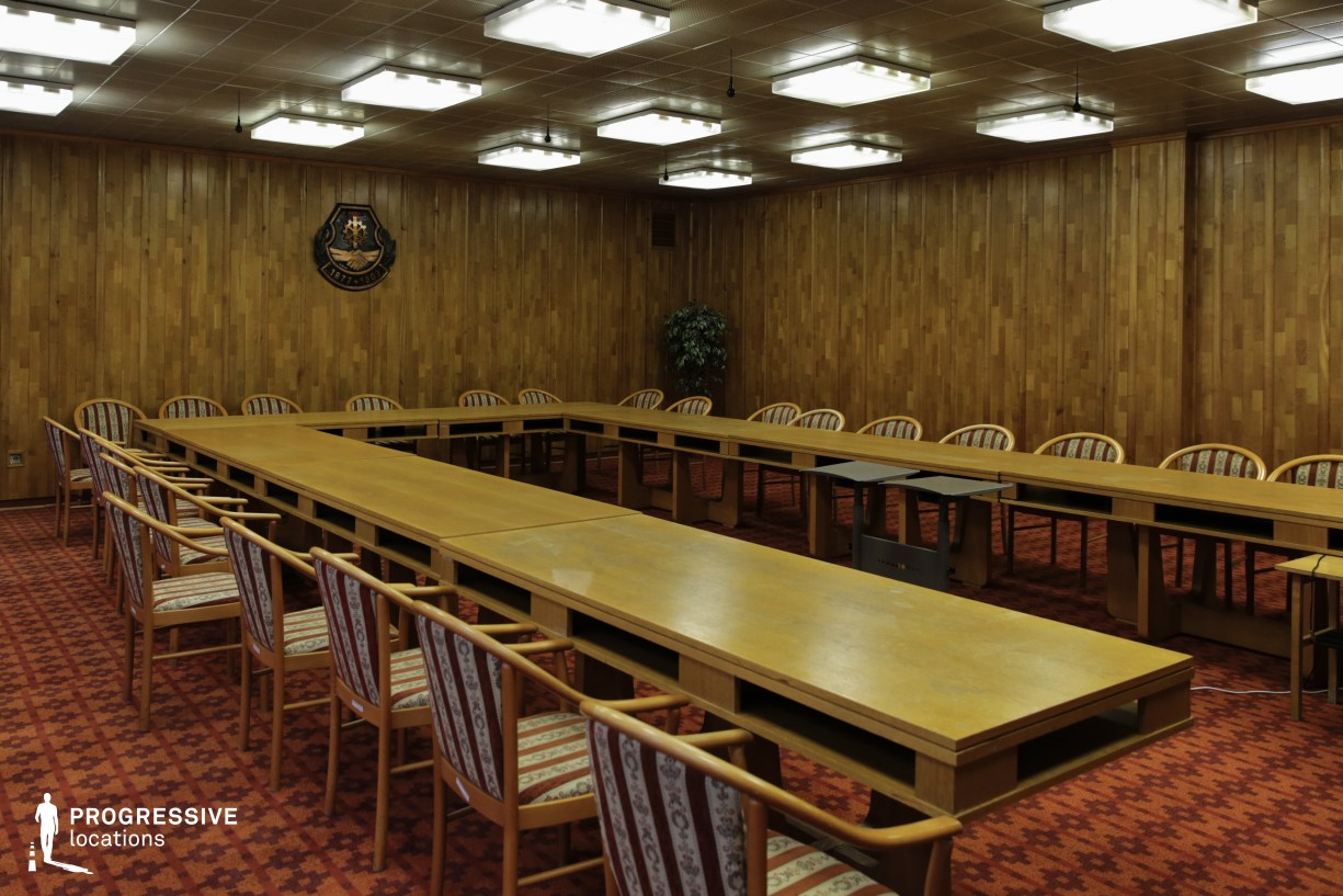 Locations in Budapest: Board Room, Metalworkers Union