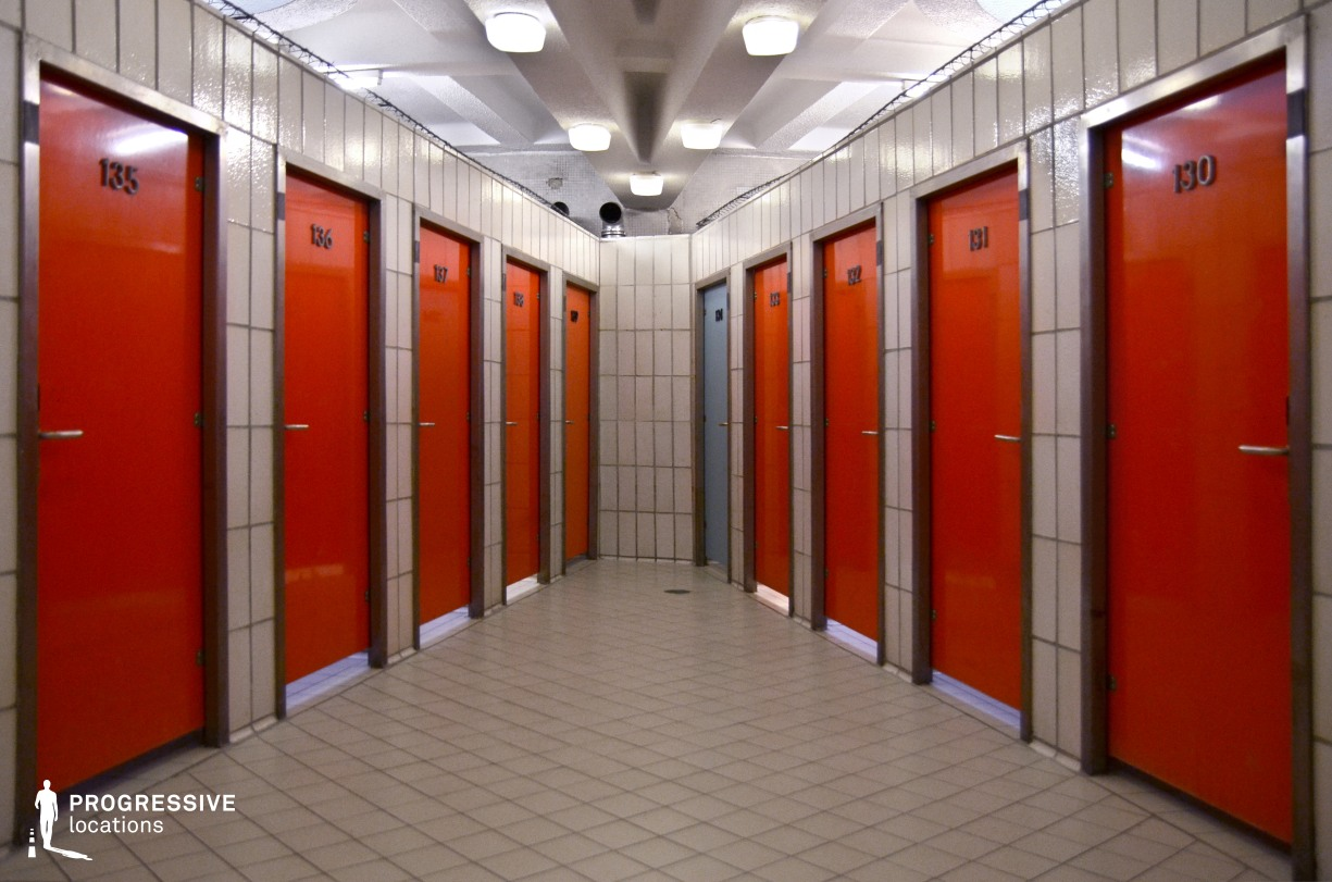 Locations in Budapest: Gellert Changing Room