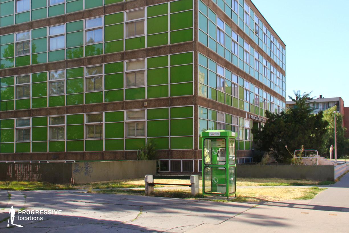 Locations in Hungary: Dunaujvaros, Green Hospital