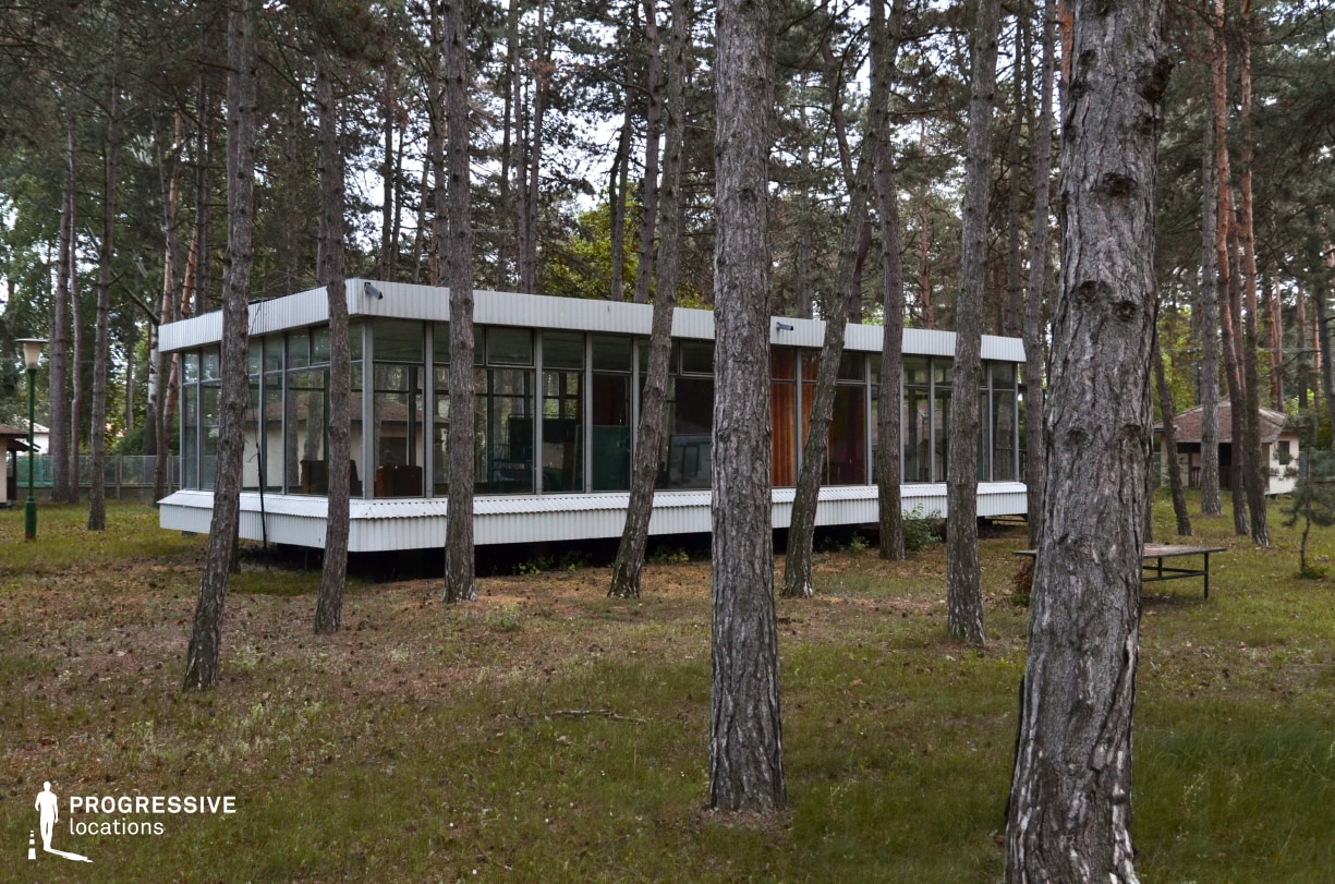 Locations in Hungary: Siofok, Modernist House