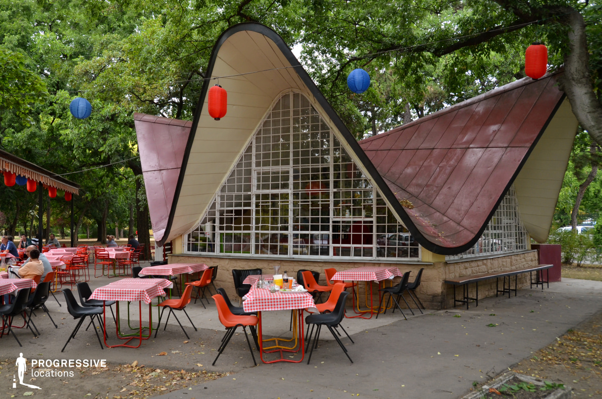 Locations in Budapest: Pantlika Cafe Terrace